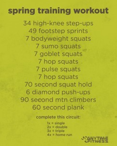 Just one of many free workouts!