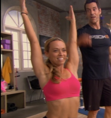 "Stephanie and Tony created the P90X3 Yoga ""flow"""